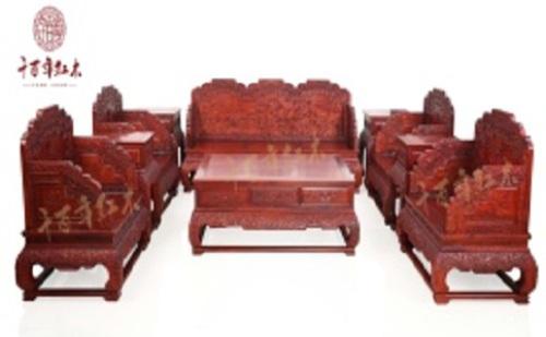 千百年紅木之漢宮沙發