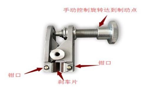 工业钳盘式手动气动液压制动器图片