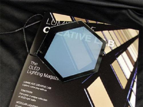 飞利浦展示未来OLED照明技术