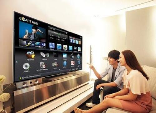 三星将推出手指感控智能电视