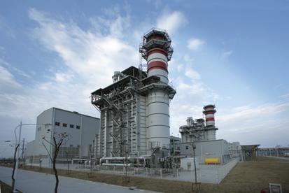 海内最大装机范围燃电机厂完工