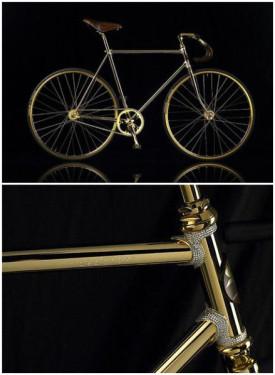 据外媒报道北欧一家公司生产了世界上最贵的自行车该自行...