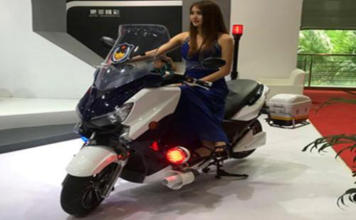 警用大功率锂电池电动摩托车更实用