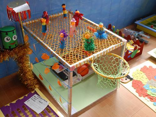 幼儿园大型自制玩具
