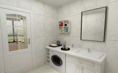 卫生间、阳台、厨房,洗衣机到底该放哪?