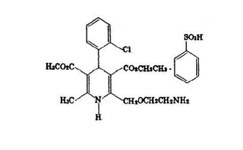 苯磺酸氨氯地平的药理作用及应用范围