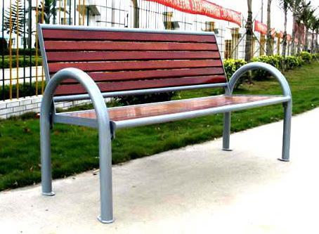 户外木质休闲椅