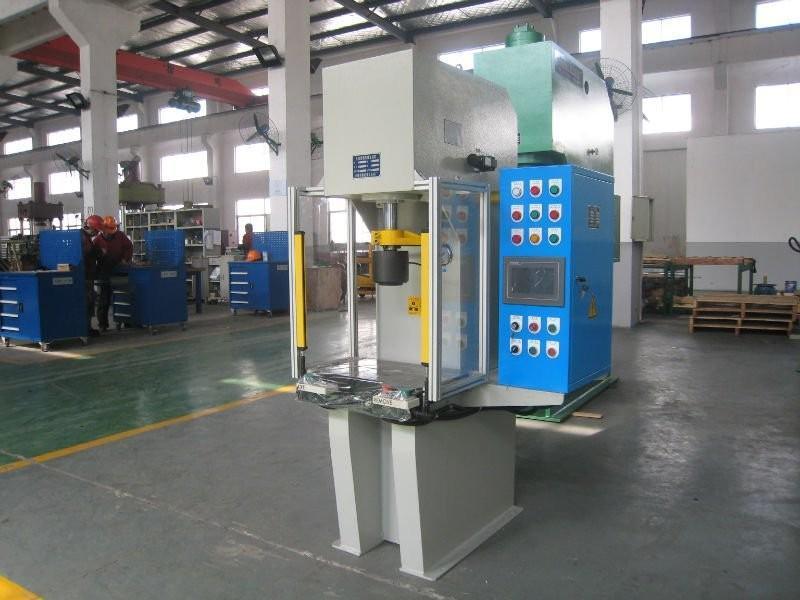 """自动 型号: y41 规格: 40 商标: 谷泰 产量: 1000台/年 """"单柱液压机""""图片"""