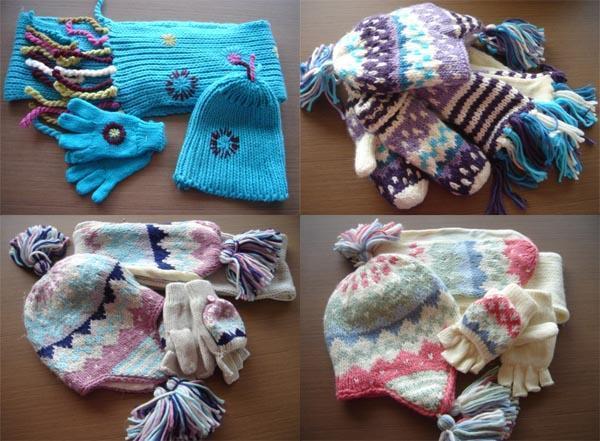 手套帽子和围巾【批发价格