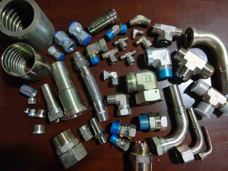 液压管件接头(直通,弯通,三通)图片