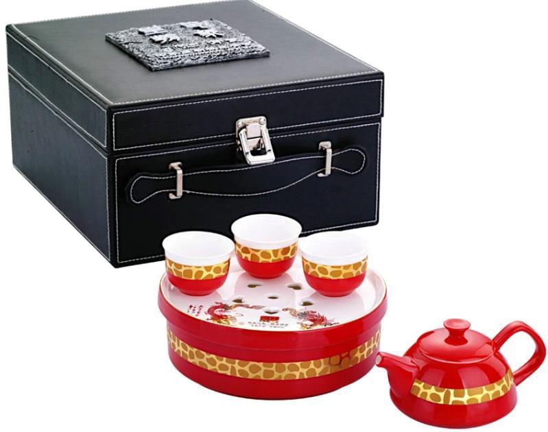 废品手工制作茶具