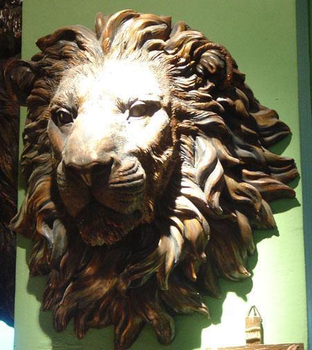 狮子超轻泥作品步骤