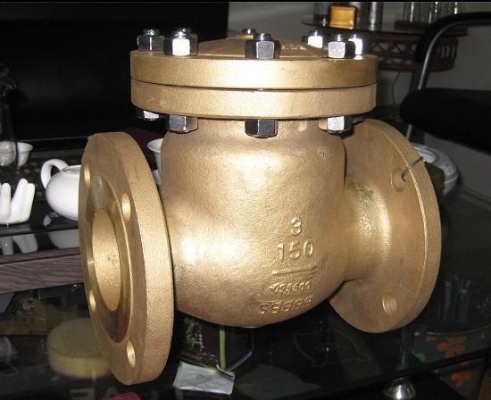 氧气止回阀采用材质优良的硅黄铜或不锈钢铸造而成,具有机械强度图片