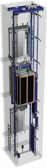 其诞生的主要原因是欧洲对古建筑的保护以及与液压电梯的竞争.图片