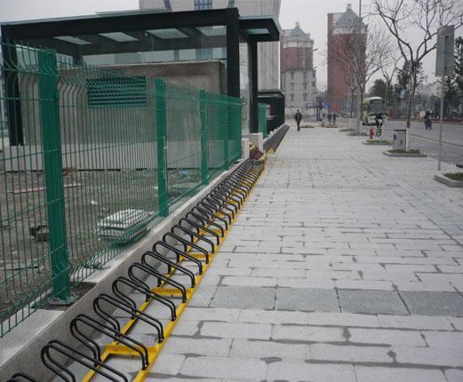 全新自行车停车图片