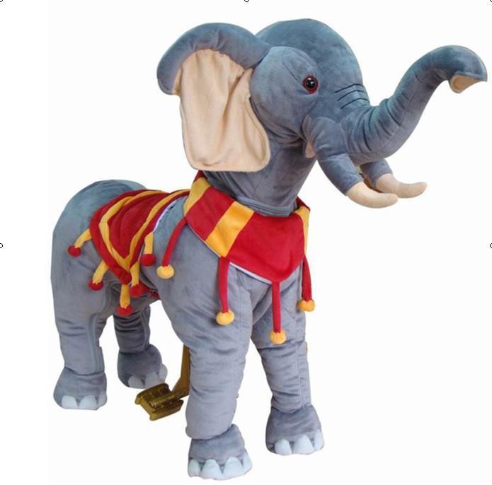 超柔大象幼儿健身玩具