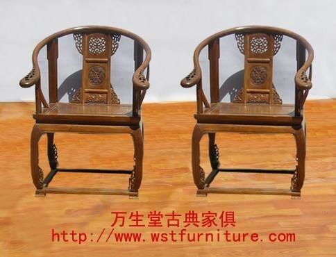 木头椅子工业产品手绘