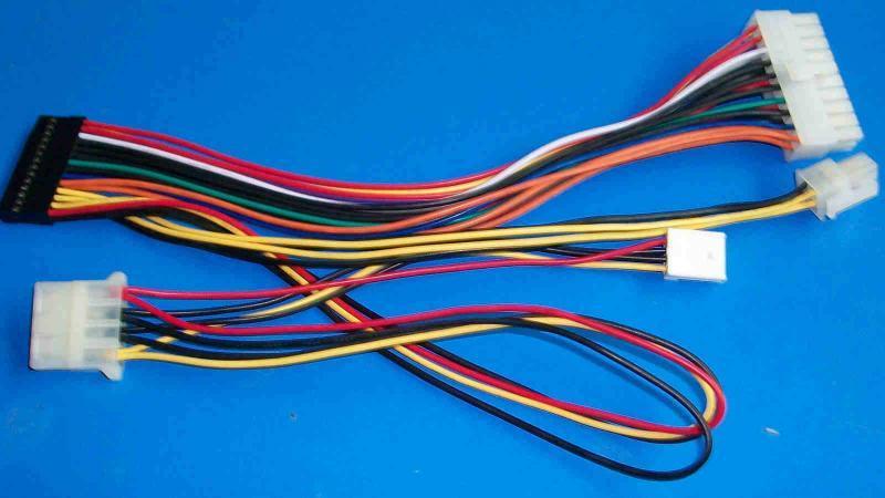 电子线束 汽车电子线束 电子线束加工-电子线 ul电子线 电子线材高清图片