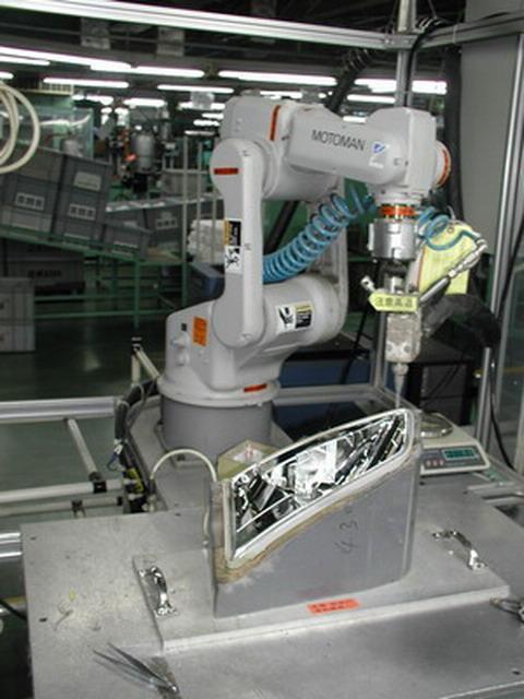 涂胶系统用工业机器人 MH6 批发价格,厂家,图片