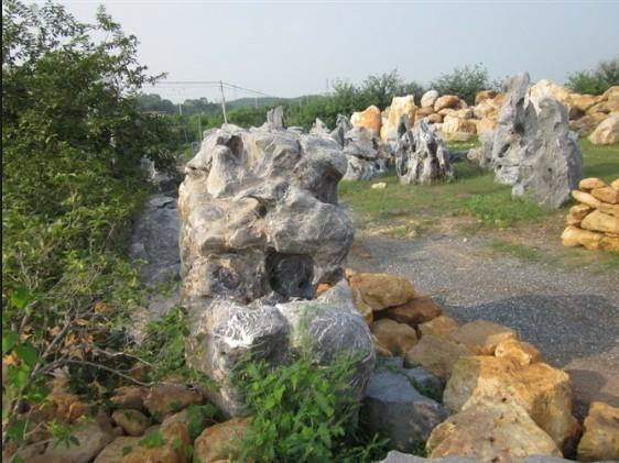 太湖石 中国制造网,广东英德市园艺花木奇石场图片