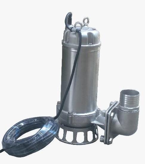 """""""不锈钢潜水泵""""参数说明"""