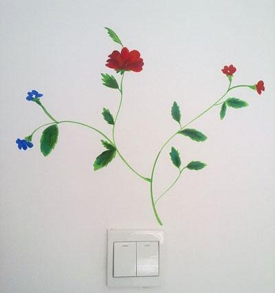 儿童房手绘墙画