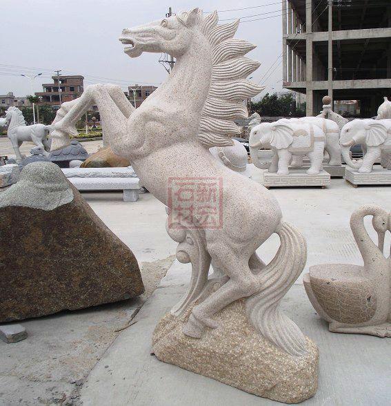 动物雕塑多个角度图片