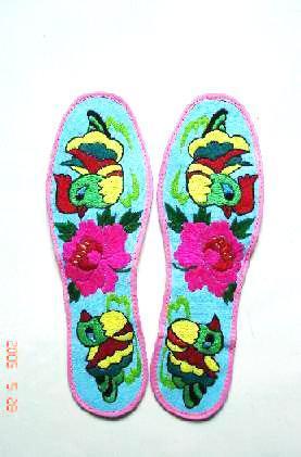 纯手工绣花鞋垫(ab-01)