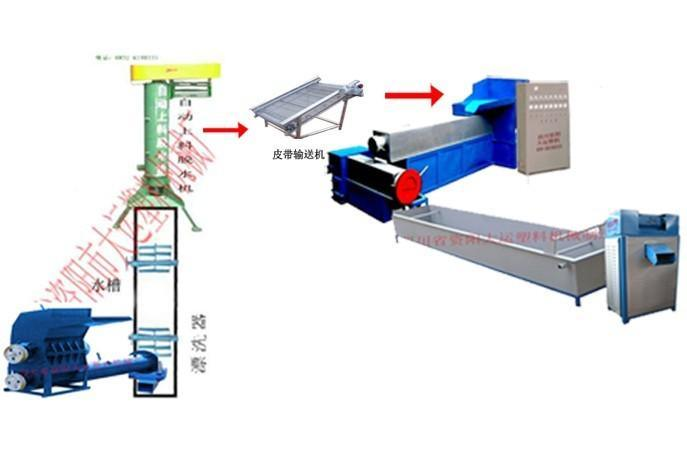 备30t冷却塔一个,水泵一台,做循环水,与脱水机和水环进水管相连.