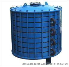 搪玻璃碟片式冷凝器图片,搪玻璃碟片式冷凝器高清图片 淄博华星化工设备厂,中国制造网