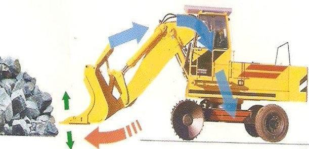特种铲装挖机挖机