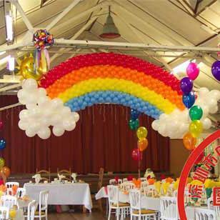 长条气球简单造型; 氦气球