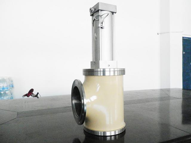 高真空气动挡板阀(gdq)图片