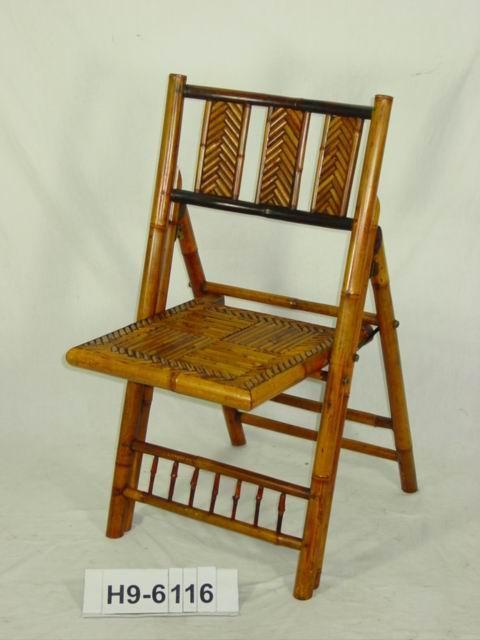 竹椅单体手绘图