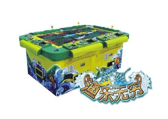 捕鱼玩法多种娱乐游戏场景画面娱乐性强2渔乐无穷游戏机炮值
