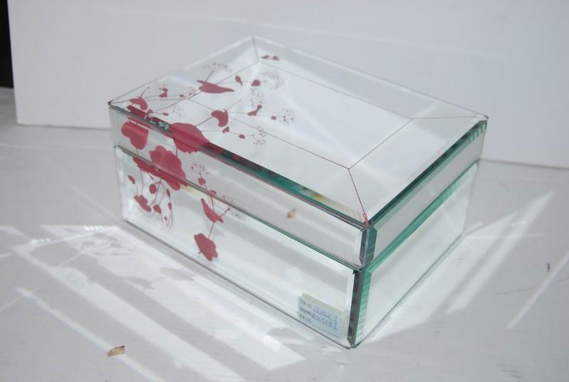 玻璃珠宝首饰盒