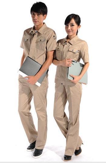 夏季工作服款式图片_时尚工作服款式图片