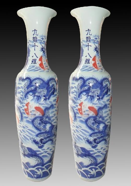 陶瓷花瓶批发 中国制造网花瓶