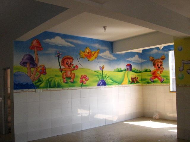 家庭壁画,儿童游乐园壁画,天文
