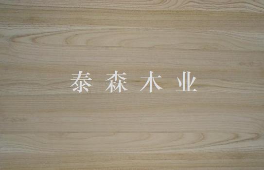 """分享到: """"白椿木刨光板""""参数说明 型号: 双面无节 商标: 泰森 包装"""