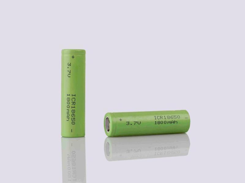 圆柱锂电池18650 1800mah图片