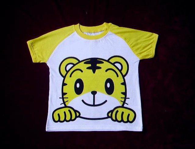 """商标: benesse巧虎t恤 包装: 塑料袋 产量: 2000件/年 """"全棉外贸儿童"""