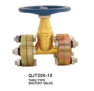 直通式截止阀(qjt200-15)图片