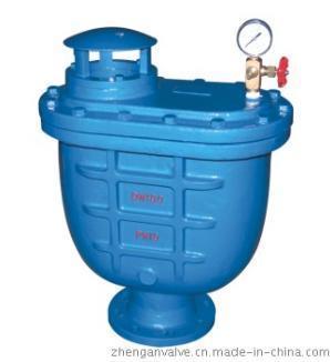 carx复合式排气阀产品驱动方式:手动,蜗轮,气动,电动等. 5.图片