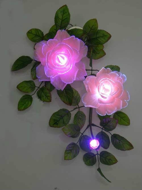 幼儿园手工制作玫瑰花图片