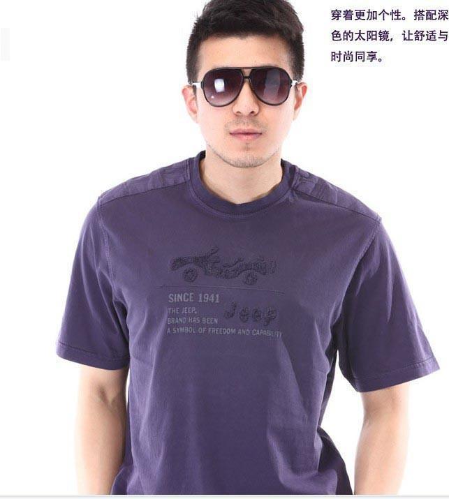 韩版男士休闲t恤衫