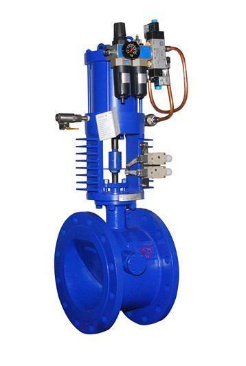 该气动式抽汽止回阀安装于从汽轮机图片