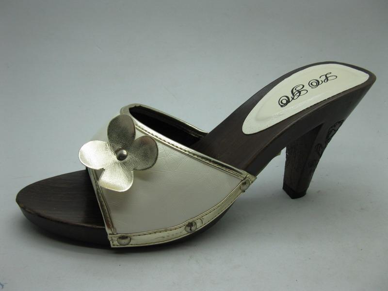 女木跟拖鞋 -3