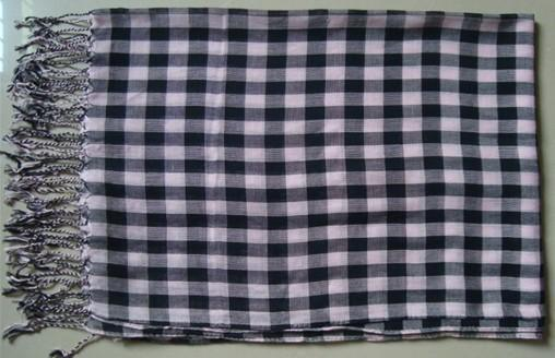 成人色情剹�n_色织方格子人棉围巾(lr-007)