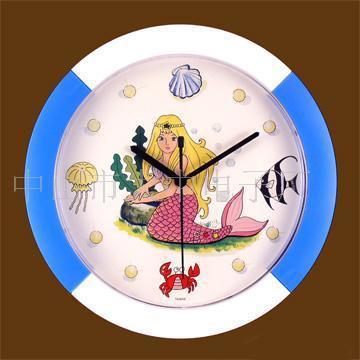 可爱时钟漫画图片